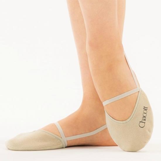 Chacott Forgócipő Standard (Washable Stretch Half Shoes Wide Range)